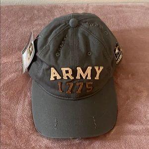 Vintage athletic military caps